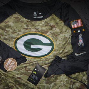 NIKE GREEN BAY PACKERS NFL SALUTE TO SERVICES
